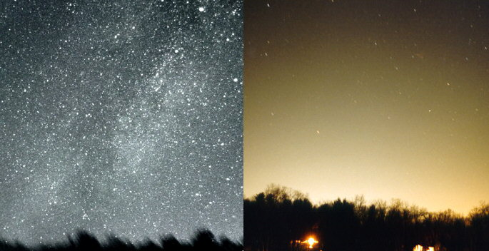 Light Pollution: The Bane of Astronomer Amateur and Professional