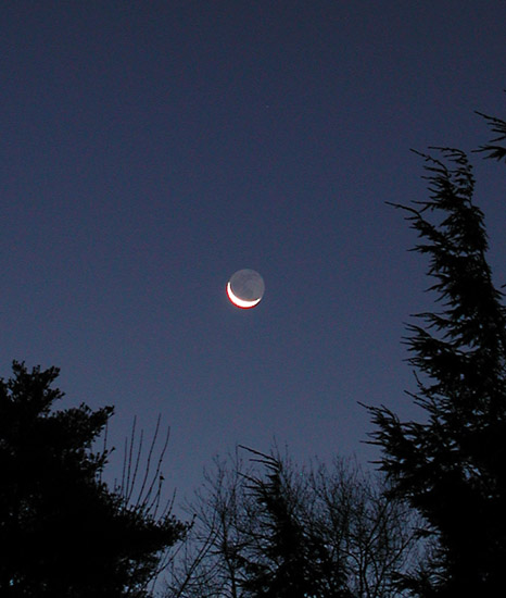 Luna în descreştere Crescent, 10 noiembrie 2004