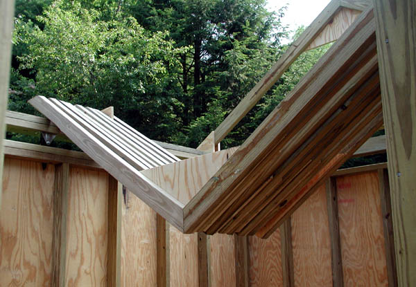 Building your own roof trusses grade b birch plywood for Building your own roof trusses