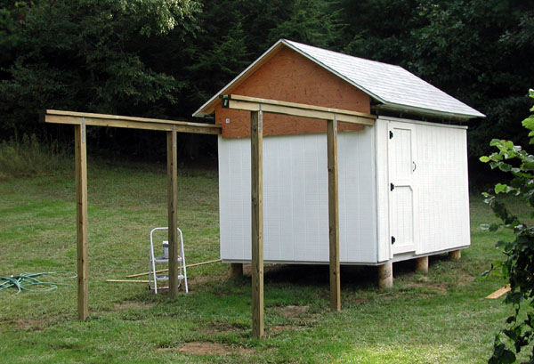 08 Sep 2006: T 111 Siding Has Been Installed All The Way Around And Primer  Has Been Applied. It Took About 3 Gallons Of Primer To Do The Siding, ...