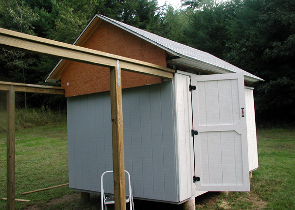 10 Sep 2006: Final Coat Of Paint Applied To The West Side. The Paint Is A  Light Gray. White Would Have Been Ideal (to Minimize Heat Absorption), ...