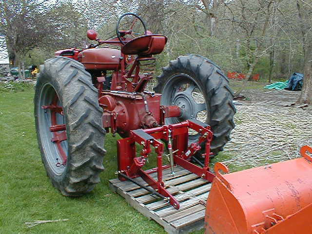 Tractor 3 Point Hitch Conversions : Joe s farmall m site image gallery