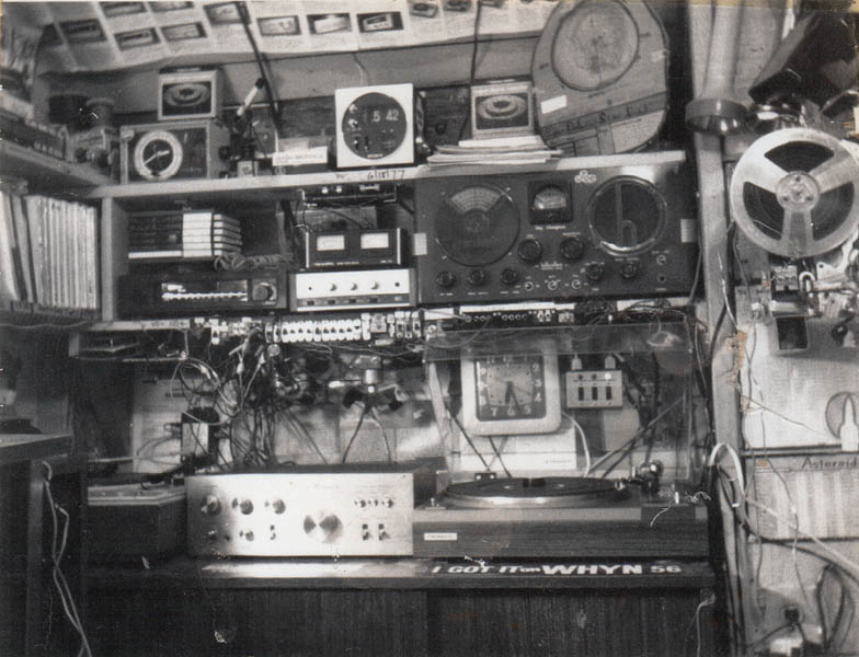 A 1970's Teenager's Bedroom - Vintage Stereo Equipment