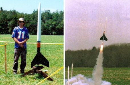 Me in 1998 with Ultimate 98, March 1999 launch at Clarks Falls.